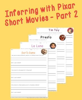 Inferencing with Pixar Animated Short Films - Part 2