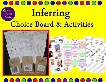 Inferring Choice Board and Activities