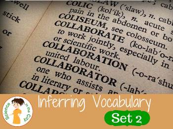 Inferring Vocabulary Cards Set 2
