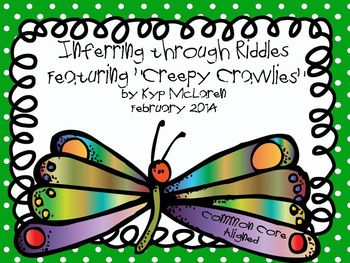 Inferring through Riddles Featuring Creepy Crawlies