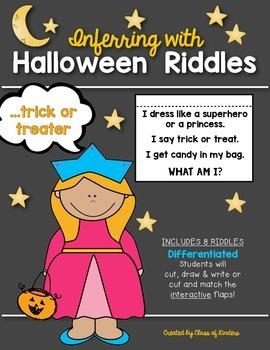 Inferring Riddles: {Lift the Flap!} Halloween Kindergarten