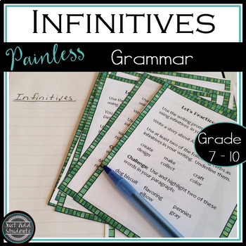 Infinitives {Verbals}