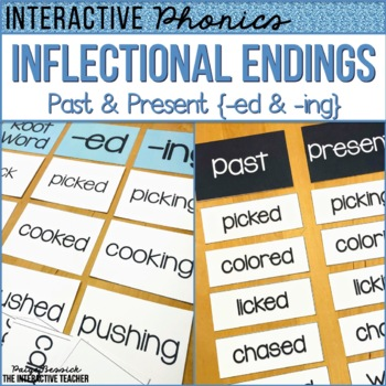 Inflectional Endings: -ed, -ing Past & Present
