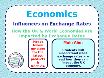 Influences on Exchange Rates - Appreciation & Depreciation