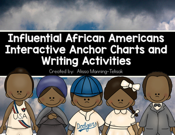 Influential African Americans Interactive Anchor Charts an