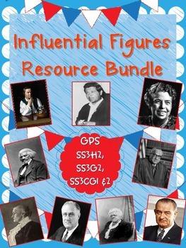 Influential Figures Resource Bundle-SSH32, SSG32, SSCG31,
