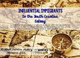 Influential Immigrants of the South Carolina Colony || SC