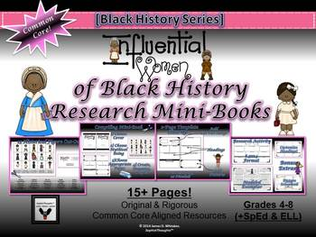 Influential Women of Black History Research Mini-Books Act