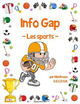 Info Gap - Les sports (Sports partner activity)