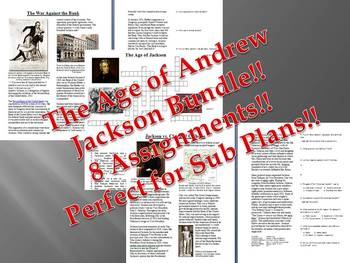 Info Reading Text - The Age of Andrew Jackson Bundle (no p