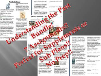 Info Reading Text - Understanding the Past Bundle (no prep