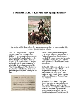 Info Reading Text - War of 1812: Star Spangled Banner Writ