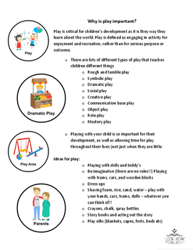 Info Sheet - Why is play important