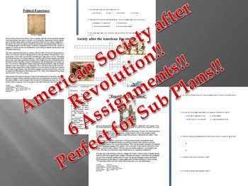 Info Text - American Society after Revolution Bundle (No P