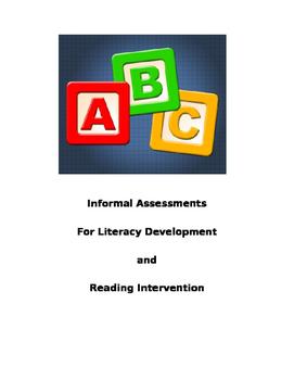 Informal Assessment File