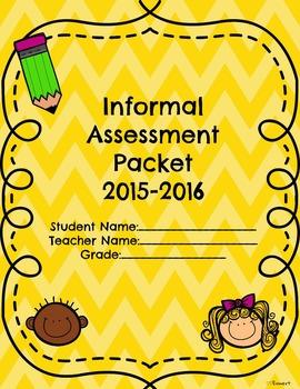 Informal Assessment Packet