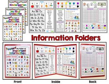 Information Folders - Mini Office - Student Reading, Writi
