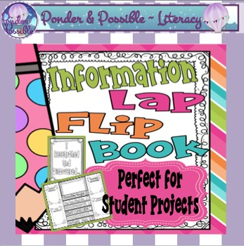 Information Text Interactive Lap Book - great for student