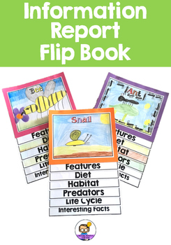 Information Report Flip Book