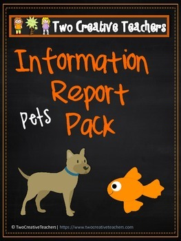 Information Report Pack BUNDLE - Pets