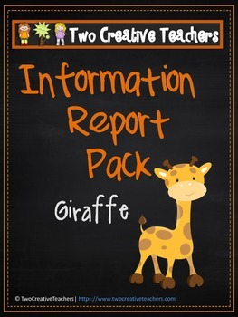 Information Report Pack - Giraffe