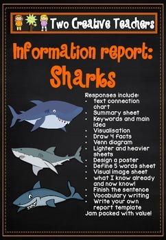 Information Report Pack - Sharks