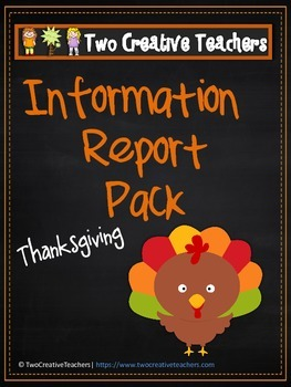 Information Report Pack - Thanksgiving