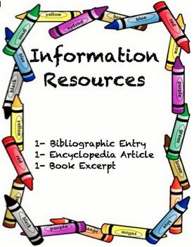 Louisiana Information Resources1-Bibliography, Encyclopedi
