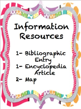 Louisiana Information Resources 2- Encyclopedia, Map, Bibl