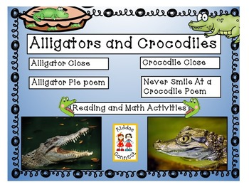 Close Informational Reading - Alligators and Crocodiles wi