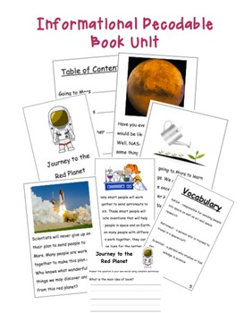 Informational Decodable Book Unit
