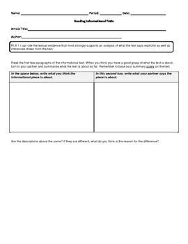 Informational Materials: Formative Bundle RI8.1-8.10
