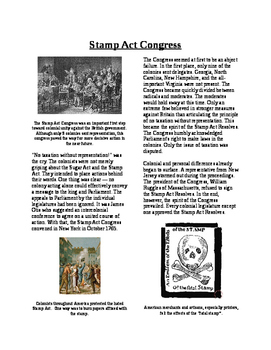 Informational Reading - Moving Toward Independence: Stamp