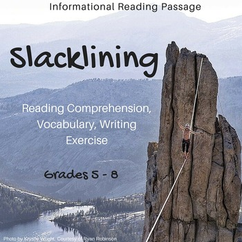 Informational Reading Passage - Slacklining