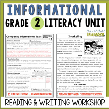 Informational Reading and Writing Unit: Grade 2...40 Lesso
