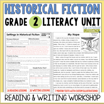 Historical Fiction Reading and Writing Unit: Grade 2...40