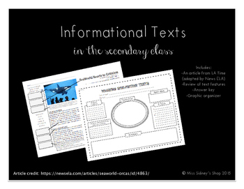 Informational Text Activity