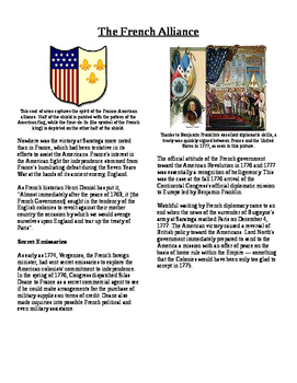 Informational Text - American Revolution: The French Allia