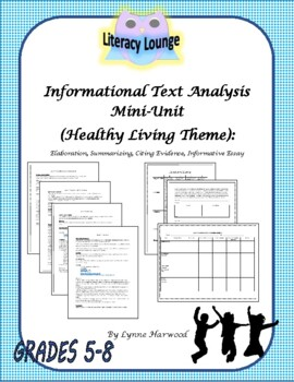 Informational Text Analysis Mini-Unit