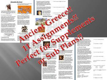 Informational Reading Text - Ancient Greece Bundle (No Pre