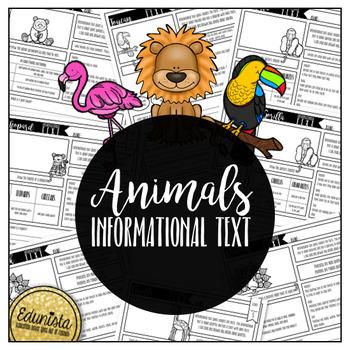 Informational Text: Animals