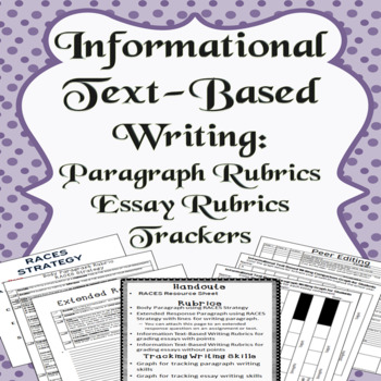 Informational Text-Based Writing