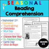 Reading Comprehension Test Prep - Informational Text Bundl