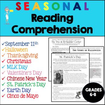 Informational Text- Bundle of Best Sellers - Grades 6-8