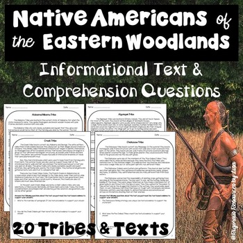 Native Americans of the Eastern Woodlands-Informational Te