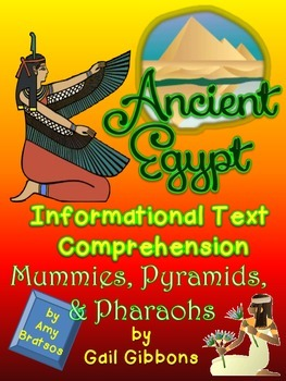 Informational Text Comprehension- Ancient Egypt using Gail