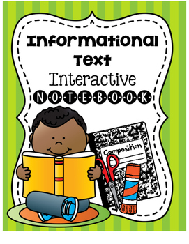 Informational Text Elements Interactive Notebook