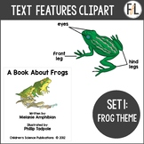 Text Features Clipart - Set 1