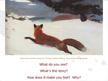 Informational Text: Finding Meaning in Artworks: Fox in the Snow