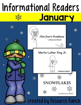 January Printable Books for New Year's|Martin Luther King